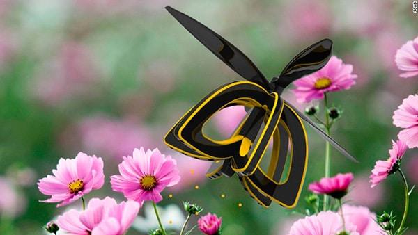 drones abejas polinizacion crisis planbee