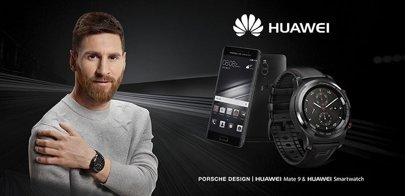 Porsche Design Messi Huawei