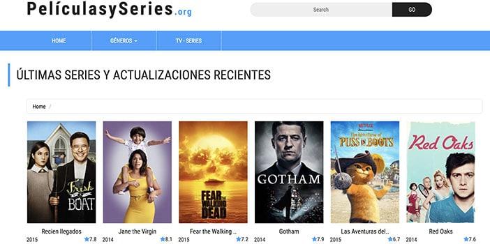 Ver Series Online Gratis Películas y Series