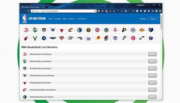 Ver NBA Online - Live NBA Stream