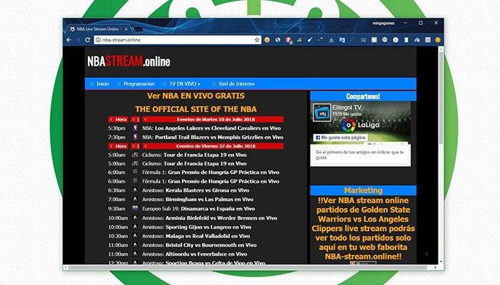 Ver NBA Online gratis - NBA Stream Online