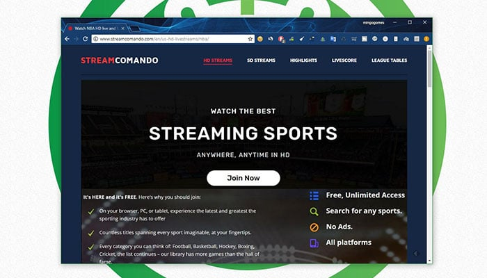 Ver NBA Online gratis - StreamComando