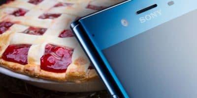 Sony Xperia XZ Actualizacion Android Pie