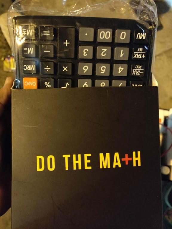 Calculadora regalada por Xiaomi