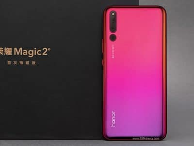 Honor Magic 2 acabado rosa