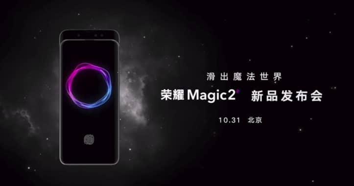 Honor Magic 2 fecha estreno