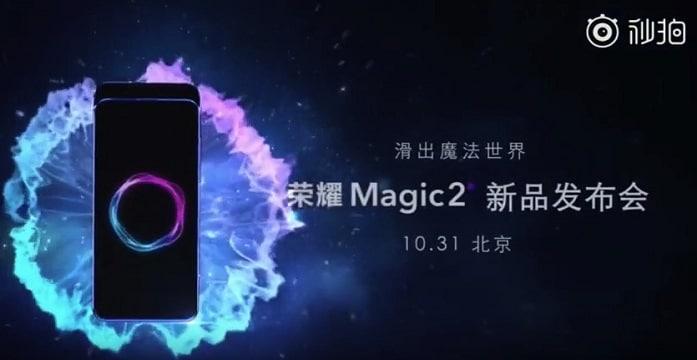 Huawei Honor Magic 2 Fecha de Lanzamiento