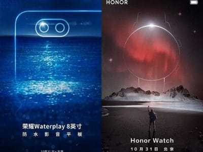 Huawei Honor Waterplay y Watch