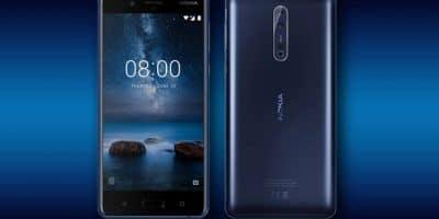 Nokia 8 diseño