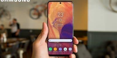 Samsung Galaxy A8s diseño render