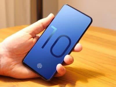 Samsung Galaxy S10 render no oficial