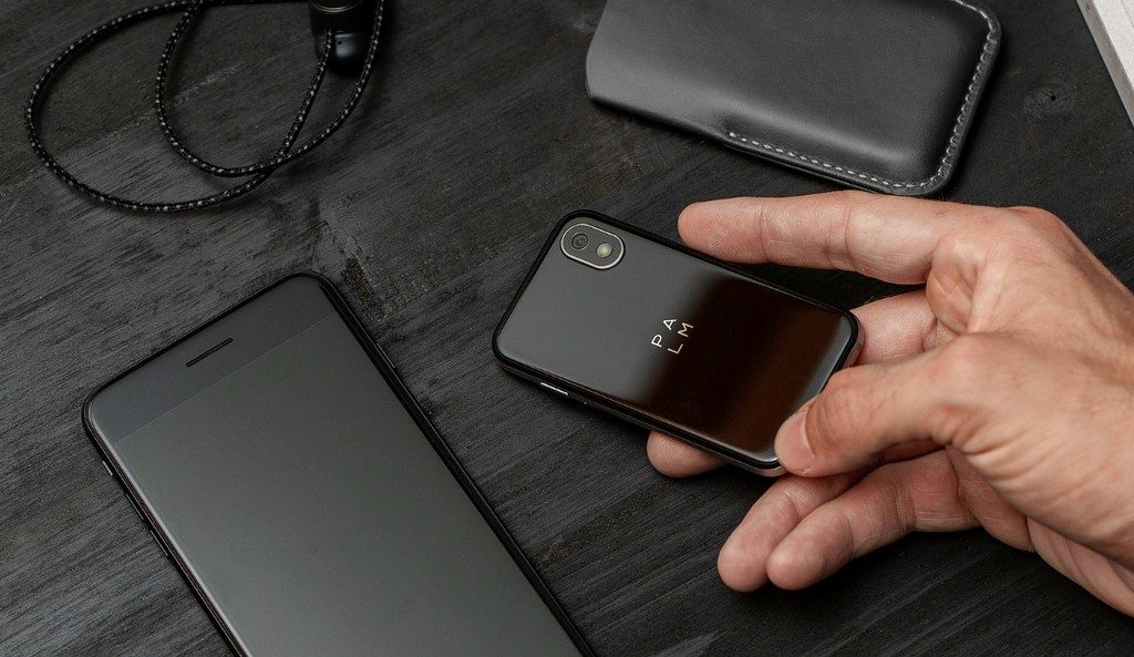Smartphone Palm Android tamaño