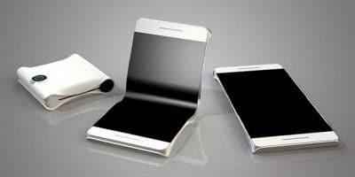 Smartphone plegable concepto
