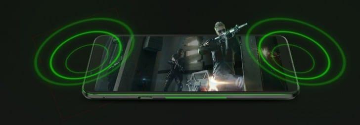 Xiaomi Black Shark 2 altavoces