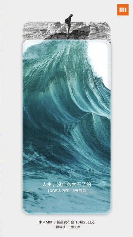 Xiaomi Mi Mix 3 10GB de RAM