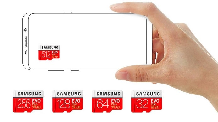 microSD Samsung 512GB