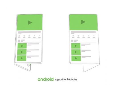Android para smartphones plegables
