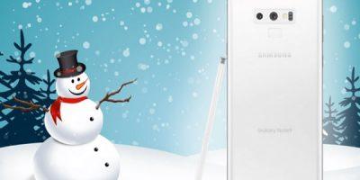Diseño conceptual Samsung Galaxy Note 9 Pure White