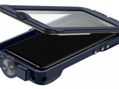 Huawei Mate 20 Pro funda sumergible abierta