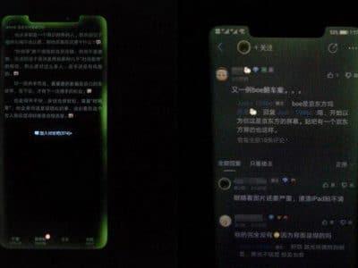 Huawei Mate 20 Pro problema pantalla