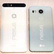 LG Nexus 5X y Huawei Nexus 6P