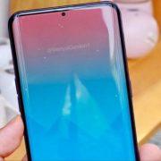 Samsung Galaxy S10 diseño conceptual