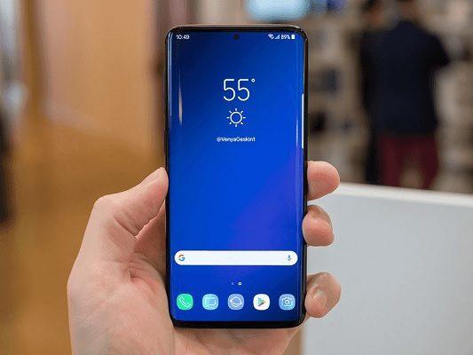 Samsung Galaxy S10 posible diseño