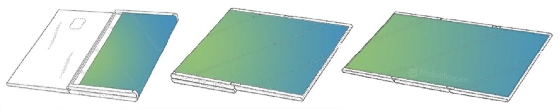 modelo Tablet plegable Samsung